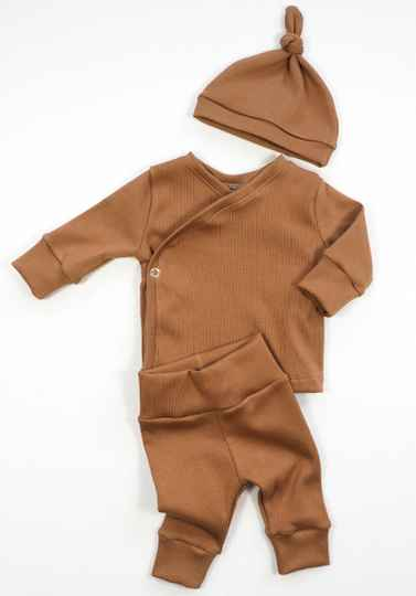 NEWBORN MUTSJE - RIB BROWN