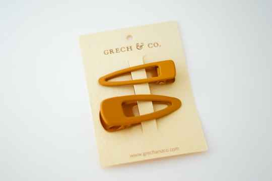 MATTE CLIPS SET - GOLDEN