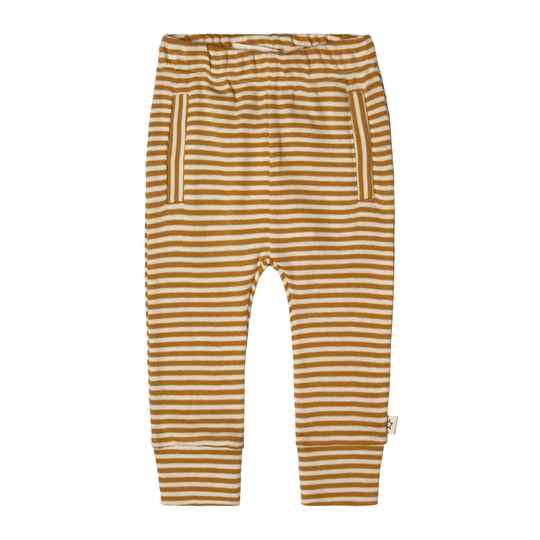 GOLD STRIPES - FITTED PANTS