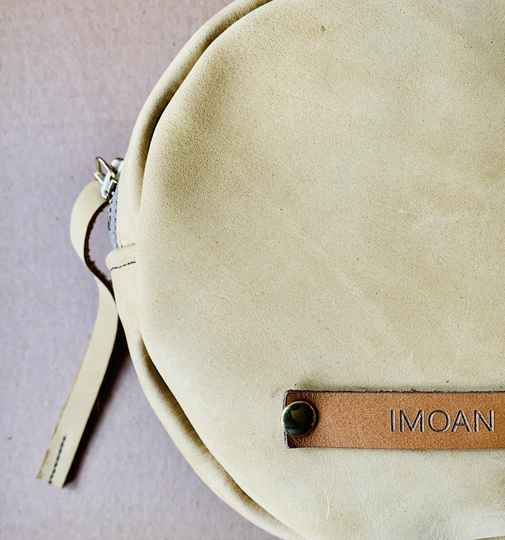 IMOAN clutch | Pastel Yellow (gold)