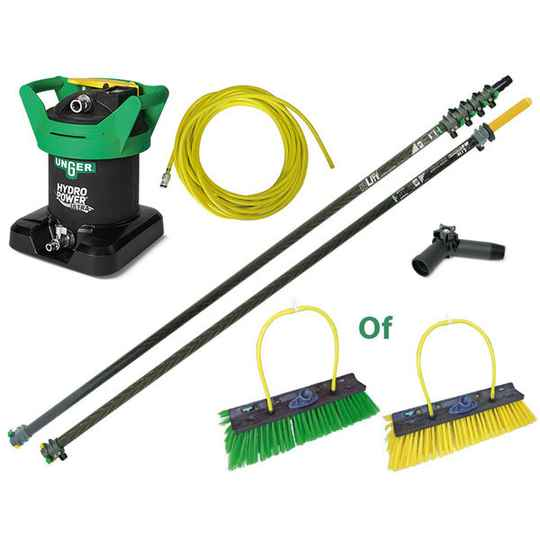 HiMod Carbon Telescoopsteel Set 1.87 tot 20 meter + HydroPower Ultra Zuiverwaterfilter V.A: