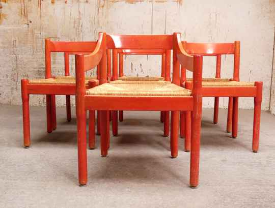 7 Cassina Carimate chairs