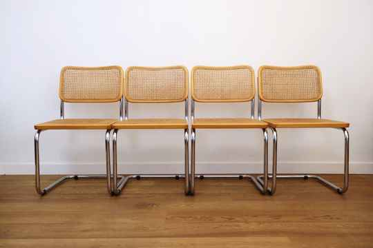 """Marcel Breuer s32  """"Cesca"""" style chairs"""