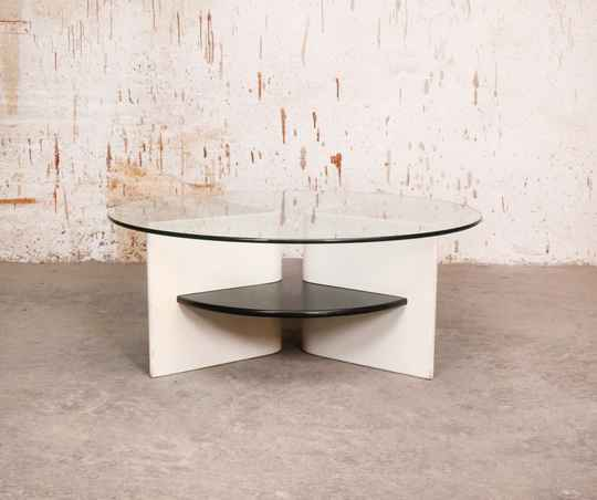 Space age coffee table