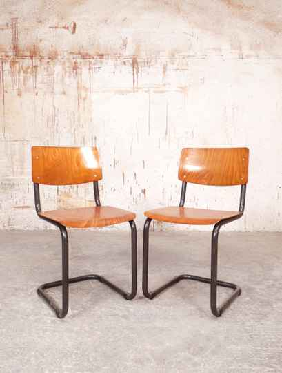 10 vintage Marko cantilever chairs