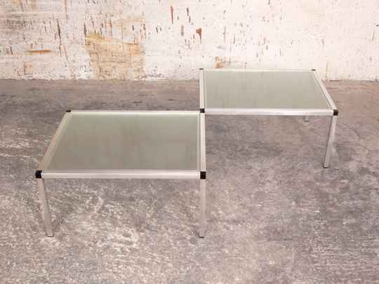 Pair of 70's style side tables