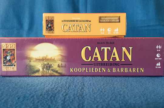 Catan Kooplieden en Barbaren 2-4 + 5-6 spelers