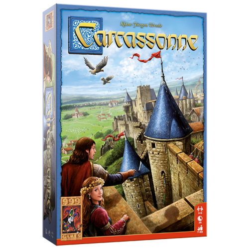 Carcassonne Basisspel 999-CAR01N