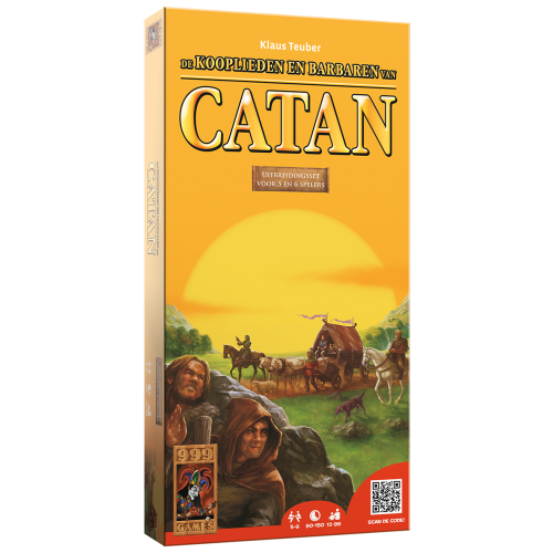 Catan Kooplieden en Barbaren 5-6 spelers