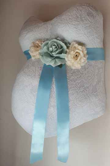 Baby Belly Forever box - Baby blue