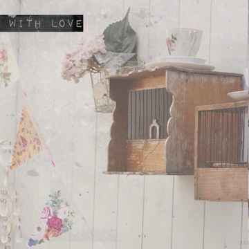 """With Love Postcard """"Birdcages"""""""