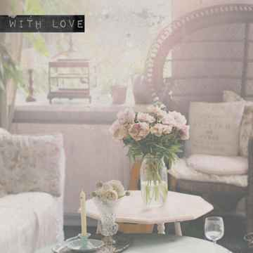 """With Love Postcard """"Living Room"""""""