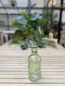 Bottle Green Stripe Large