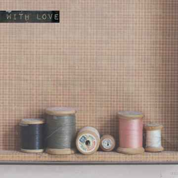 """With Love Postcard """"Sewing Coils """""""