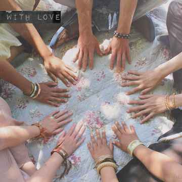 """With Love Postcard """"United Hands"""""""