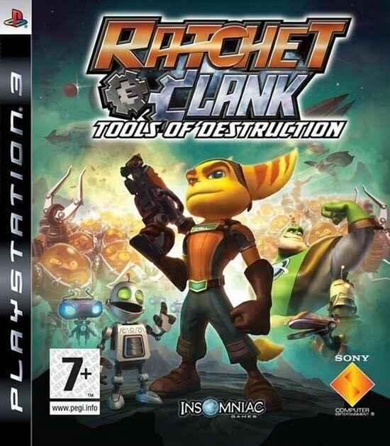 Ratchet & Clank Tools of Destruction - PS3 - art.400435