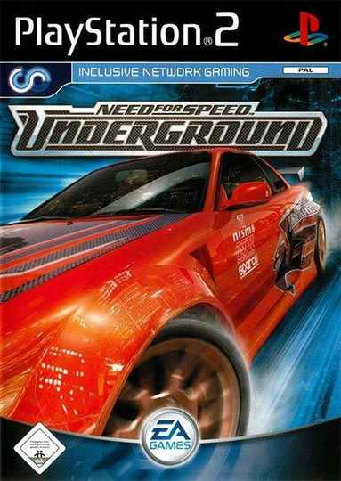 Need for Speed Underground - PS2 - art.400407