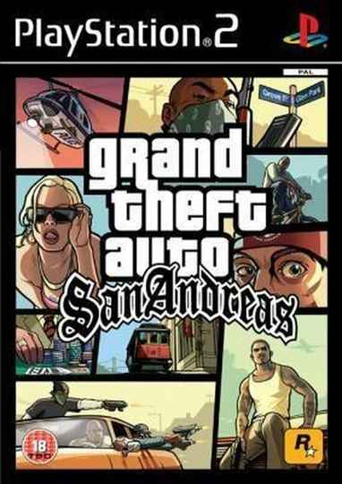 GTA San Andreas - PS2 - art.400403