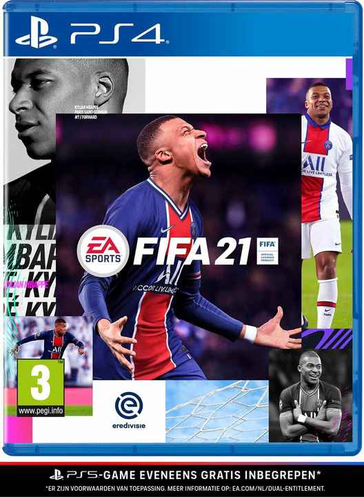 FIFA 21 PS4 (gratis upgrade naar PS5) - art. 50446