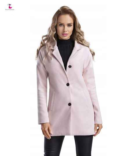 Dames jas roze fleece DJ01