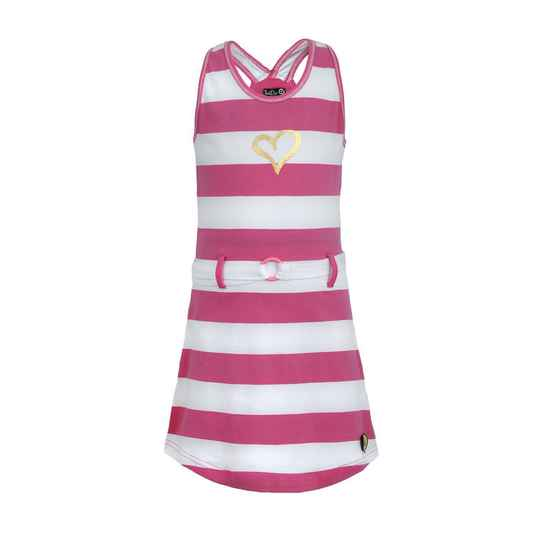LoFff Fancy Dress - Stripe 2 Pink Fuchsia