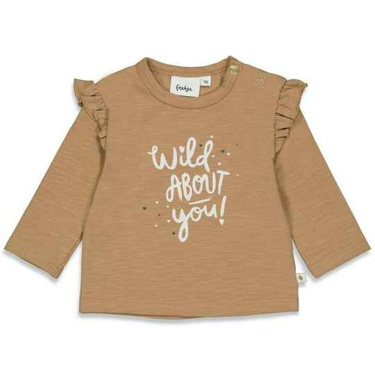 Feetje Shirt About You Wild At Heart - Camel
