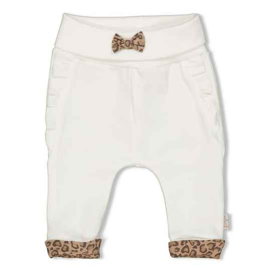 Feetje Broek Panther Cutie - Off white