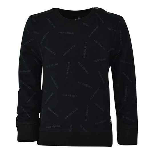 Born United Sweater Thierry - Black Ao Text