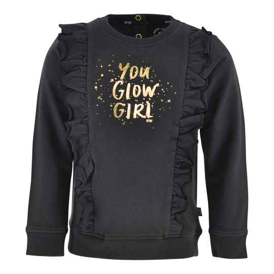 Born to be Famous Sweater Inge - Antraciet