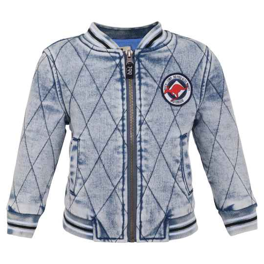 Beebielove Bomber Crocodile - Denim