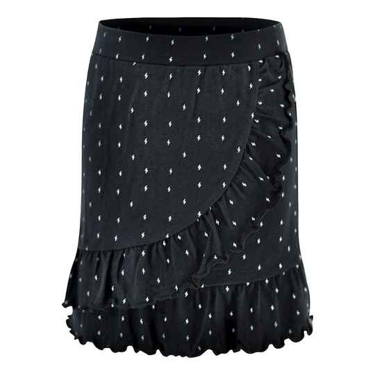 Kiddo Skirt Holly - Black/Aop