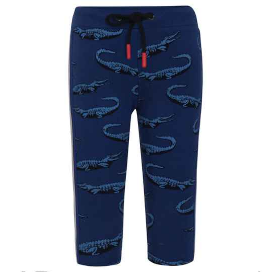 Beebielove  Sweatpants Crocodile - Blue