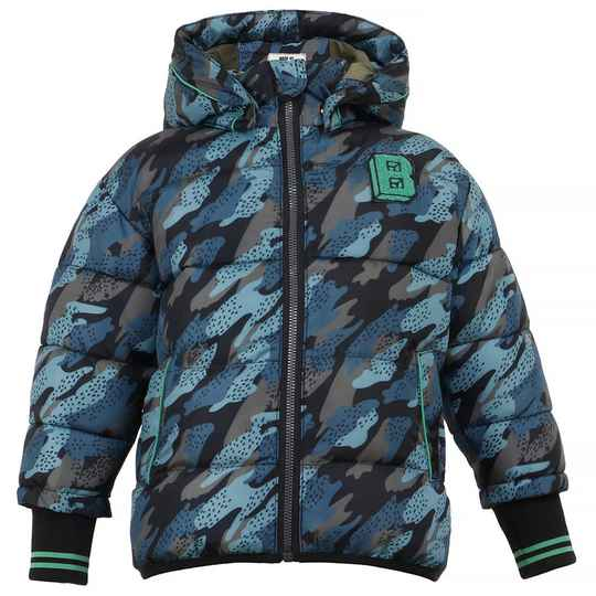 Beebielove  Jas Camouflage - Army Green