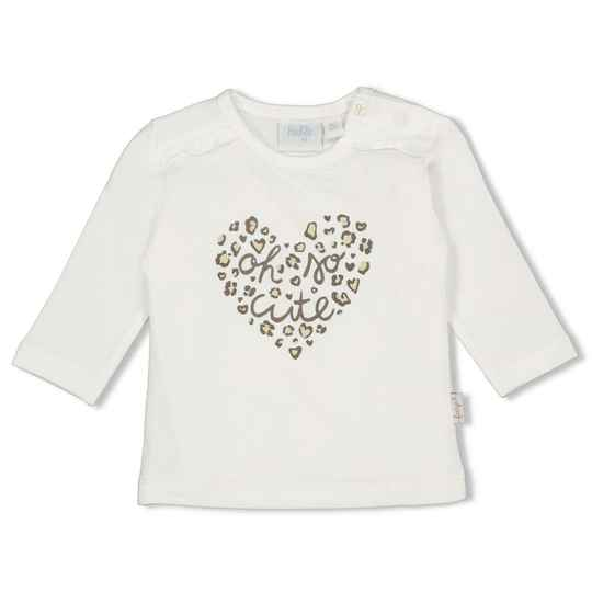 Feetje Shirt Panther Cutie - Off White