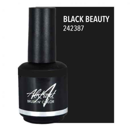 Black Beauty 15ml | Abstract Brush N Color