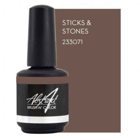 Sticks & Stones 15ml| Abstract Brush N Color