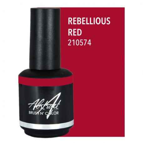 Rebellious Red 15ml | Abstract Brush N Color