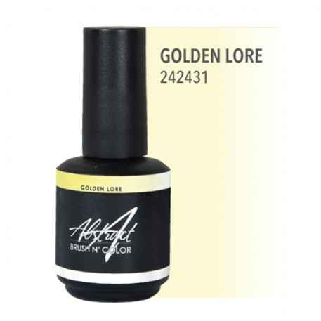 Golden Lore 15ml   Abstract Brush N Color