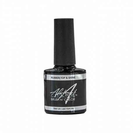 Rubber TOP & SHINE Top Gel 7,5ml | Abstract