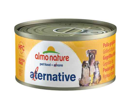 Almo nature HFC dogs gegrilde kip (24X70G)