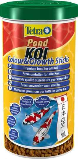 Tetra pond koi colour & growth sticks 1L