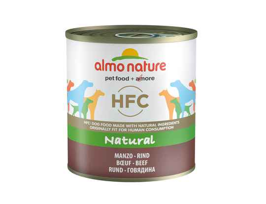 Almo nature HFC dogs natural rundvlees (12X290G)