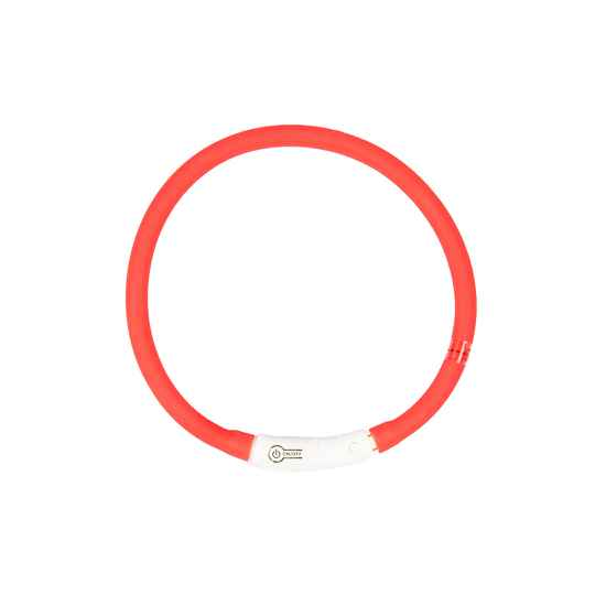 Flash light ring usb silicone Rood