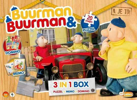 Box 3 in 1 Buurman & Buurman