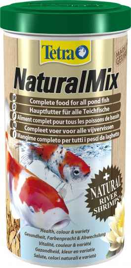 Tetra pond natural mix 1L