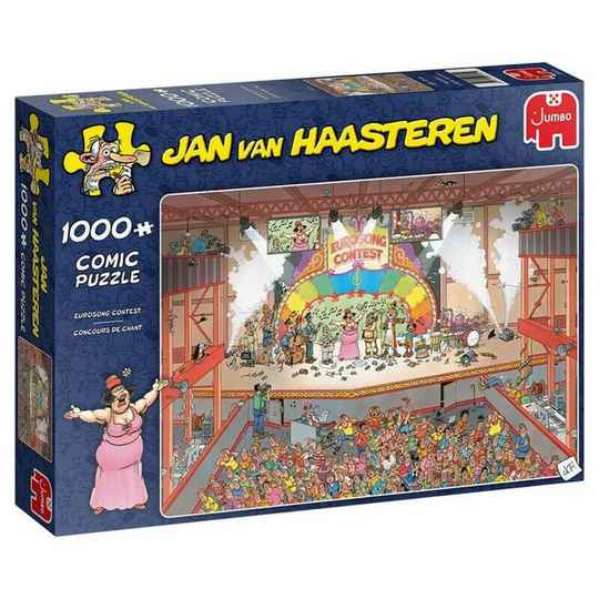 Puzzel JvH Eurovision song Contest 1000 stuks