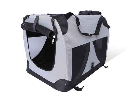 Transport traveller nylon zwart 81x59x59cm XL