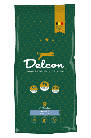 Delcon kat adult with fish 1,75kg