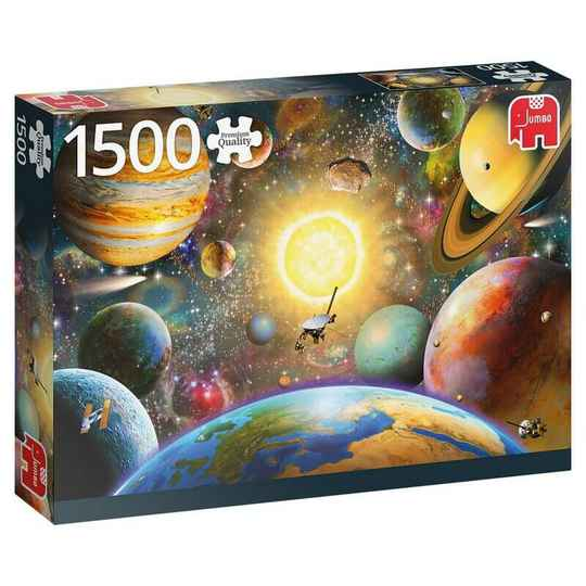 Puzzel Floating In Outer Space 1500 stuks