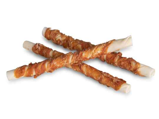 Chicken wrapped stick 25cm 560g large